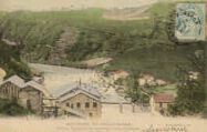 1 vue  - usines Turquois et barrage de la Valserine (ouvre la visionneuse)