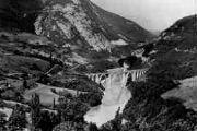 1 vue  - Longeray - le viaduc et le Fort, l'Ecluse (ouvre la visionneuse)