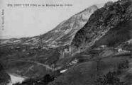 1 vue  - Fort l'Ecluse et la montagne du Crédo (ouvre la visionneuse)
