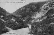 1 vue  - vallée du Rhône et Fort de l'Ecluse (ouvre la visionneuse)