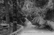 1 vue  - cascade - villa Belaysoud (ouvre la visionneuse)