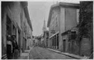1 vue  - Rue de l'Eglise Imprimerie ferblanterie (ouvre la visionneuse)