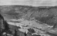 1 vue  - vallée de Mijoux vue du col de la Faucille (ouvre la visionneuse)
