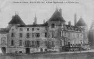 1 vue  - château de Cibeins -école d'agriculture de la ville de Lyon (ouvre la visionneuse)