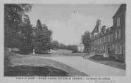 1 vue  - école d'agriculture de Cibeins- la façade du château (ouvre la visionneuse)