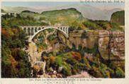 1 vue  - pont dui Moulin-des-Pierres et crêt de Chalame (ouvre la visionneuse)