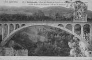 1 vue  - Pont du Moulin de Pierres sur la Valserine inauguré en 1909 ? (ouvre la visionneuse)