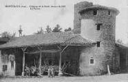1 vue  - château de la Batie, datant de 1100 - le ferme (ouvre la visionneuse)