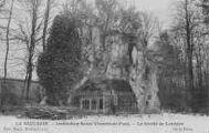 1 vue  - institution Saint-Vincent-de-Paul - la grotte de Lourdes (ouvre la visionneuse)