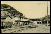 1 vue  - La Cluse - La gare (ouvre la visionneuse)