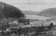 1 vue  - Nantua et le lac (ouvre la visionneuse)
