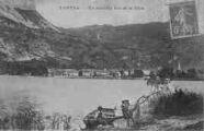 1 vue  - un coin du lac et la ville (ouvre la visionneuse)