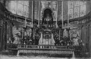 1 vue  - mâtre autel - anges adorateurs, marbre blanc de Clément Jayet (1784) (ouvre la visionneuse)