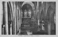1 vue  - intérieur del'église - le choeur (ouvre la visionneuse)