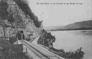 1 vue  - le tunnel et les bords du lac (ouvre la visionneuse)