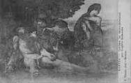 1 vue  - Tableau de Saint-Sébastien par Eugène Delacroix (ouvre la visionneuse)