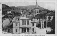 1 vue  - Le Palais de Justice et l'Eglise du XIIIe siècle (ouvre la visionneuse)