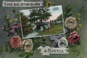1 vue  - Il m'est doux de vous les offrir de Nantua - Les bords du Lac, retour de pêche (ouvre la visionneuse)