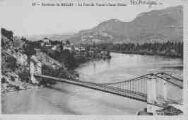 1 vue  - route de Belley à Yenne - le Rhône à Saint-Didier (ouvre la visionneuse)