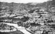 1 vue  - le pont sur le Rhône, vue générale (ouvre la visionneuse)