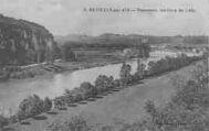 1 vue  - panorama, les rives de l'Ain (ouvre la visionneuse)