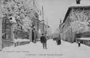 1 vue  - rue de Veyziat en hiver (ouvre la visionneuse)