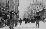 1 vue  - Grande Rue en hiver (ouvre la visionneuse)