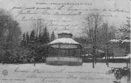 1 vue  - Le Kiosque de la Musique et le Parc en hiver (ouvre la visionneuse)