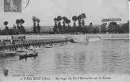 1 vue  - Barrage du Port Bernalin sur la Saône (ouvre la visionneuse)
