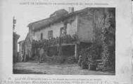 1 vue  - la maison aux piliers gothiques où est instalé le musée du Vieux Pérouges (ouvre la visionneuse)