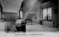1 vue  - Château de Peyrieu - chambre à coucher - le moulin de Peyrieu (ouvre la visionneuse)