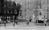 1 vue  - abbaye cistercienne de Notre-Dame-des-Dombes - gare et poste - le cimetière (ouvre la visionneuse)