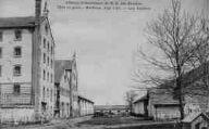 1 vue  - abbaye cistercienne de Notre-Dame-des-Dombes - gare et poste - les ateliers (ouvre la visionneuse)