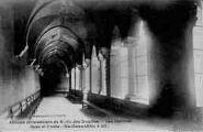 1 vue  - abbaye cistercienne de Notre-Dame-des-Dombes - les cloîtres -gare et poste (ouvre la visionneuse)