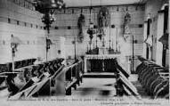 1 vue  - Abbaye Cistercienne de N.-D. des Dombes-Gare et poste : Marlieux (Ain) 4 kil. - Chapelle provisoire - Futur Scriptorium (ouvre la visionneuse)