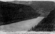 1 vue  - un coin du lac de Sylans et le moulin de Charix (ouvre la visionneuse)