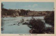 1 vue  - bord de l'Ain - la Saûlée (ouvre la visionneuse)