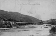 1 vue  - la rivière d'Ain et barrage d'Allement (ouvre la visionneuse)