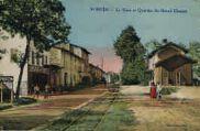 1 vue  - La Gare et Quartier du Grand Chemin (ouvre la visionneuse)