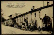 1 vue  - Hôtel Sibuet - Station estivale - Musée préhistorique recommandé du Touring club - Téléphone n°2 - Grand garage pour automobiles (ouvre la visionneuse)