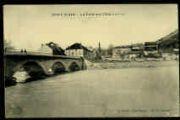 1 vue  - Le Pont sur l'Ain (côté Est) (ouvre la visionneuse)