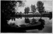 1 vue  - bords de la Reyssouze - barque (ouvre la visionneuse)