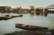 1 vue  - la Saône - pont de Fleurville (ouvre la visionneuse)