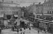 1 vue  - Place Jourbert - Arrivée des Tramàays (ouvre la visionneuse)