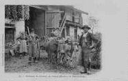 1 vue  - Bressans se rendant au travail (Environs de Pont-de-Vaux) (ouvre la visionneuse)