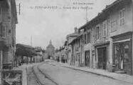 1 vue  - Grande Rue et Pont Levis (ouvre la visionneuse)