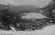 1 vue  - lac de Nantua, Port et la Cluse (ouvre la visionneuse)