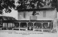 1 vue  - hôtel de la Gare - Emile Téchaud, propriétaire (ouvre la visionneuse)