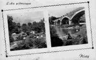 1 vue  - le pont sur l'Ain - un beau site de camping (ouvre la visionneuse)