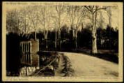 1 vue  - Château de Challes-Les fossés. Guichard VI s'intitule le fondateur de la ville (13110) parce qu'il en avait fait construire le château, les fossés (ouvre la visionneuse)